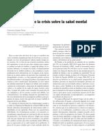 Crisis y Salud Mental