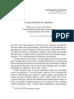 Diana L. Pessoa de Barros Narratividad