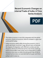 Impact of Recent Economic Changes on the External Ppt