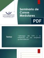 Exposicion Final Seminario Cursos Medulares