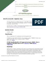 Rubella Virus Info 1