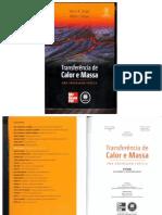 Livro Transferência de Calor - Çengel (4ª Edição) / Book