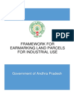 Framework for Earmarking Land Parcels for Industries
