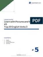 05 Top 20 English Verbs 3