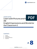 08 English Expressions and Words for the Classroom 1