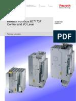 Bosch Manual REROTH PSI 6xxx.637.737 Control and IO