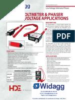 Voltímetro Digital DVM-5000V HD Electric