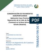 Conservacion de Pavimentos Aeroportuarios - Tfm - Alejandro Gil Helvar