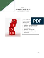 5. Manajemen Risiko Daam Proyek Konstruksi