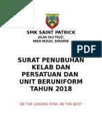 Surat Penubuhan Kk 2018-Sps