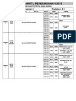 Jadual Peperiksaan 1 (t1-t5)