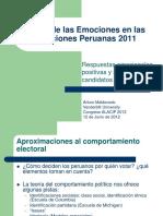 El Rol de Las Emociones en Las Eleccione