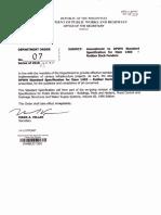 DO_007_s2018 Standard Specifications for Item 1406, Rubber Dock Fenders