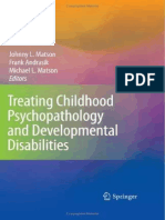 Child Psychopathology Treatment