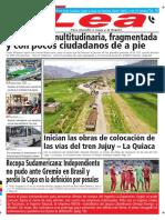 Periódico Lea Jueves 22 de Febrero Del 2018