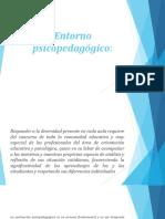 Entorno psicopedagógico