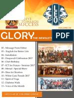 Glory - Volume 3- 2017 / 2018
