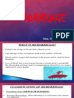 Hemorrhage Ppt (MCM REQ)