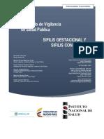 Protocolo Vigilancia Sifilis Gestacional