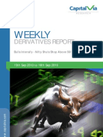 Stock Futures and Options Reports for the Week(13th - 17th September '10)