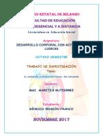 El Juego en La Educación Inicial Del Ecuador