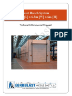 PVE CREANES Technical Proposal for Paint Booth