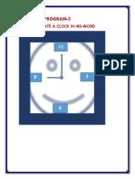 Create a clock in Ms.docx