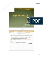 6 Fiscal Policy
