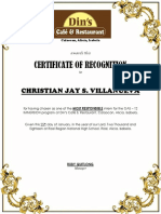 Dins Recognition