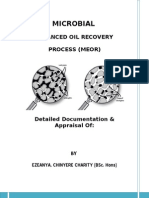 Microbial Enhanced Oil Recovery Process