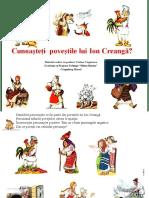Povesti Ion Creanga Evaluare Cristina Ungureanu Campulung Muscel
