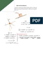 Taller de Física Mecánica