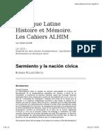 Sarmiento y la noción cívica.pdf