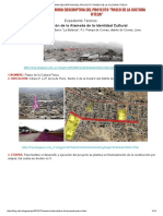 Memoria Descriptiva Del Proyecto _paseo de La Cultura Fiteca