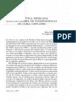 C.4. Rafael Rojas_ La polpitica mexicana ante la guerra de independencia de Cuba (1895-1898).pdf