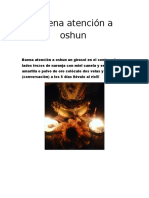 Buena Atención a Oshun Ojo 5