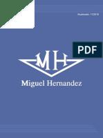 Catalogo Miguel Hernandez.pronto Envio