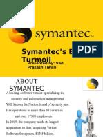 Symantec ERP Turmoil