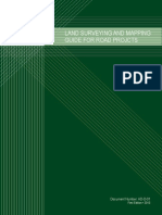 AD-D-01 Land Surveying and Mapping Guide