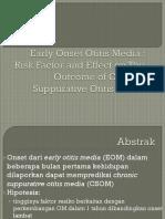 Early Onset Otitis Media