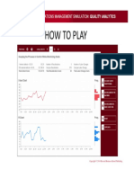 Quality Analytics How to Play
