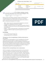 Fiori Launcpad Design Tool