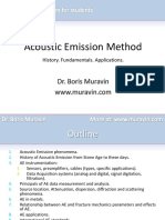 Acoustic Emission Method - Short Presentation for Students