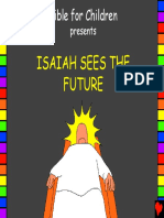 Isaiah Sees the Future English
