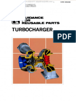 Manual Guide Reusable Parts Komatsu Turbocharger Failure Signs Diagnosis Reuse Examples Causes Mechanisms Functions