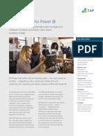 ZAP Data Hub for Power BI