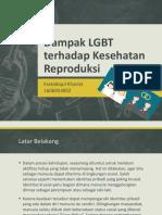 Dampak LGBT Terhadap Kesehatan Reproduksi