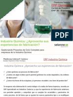 Industria Química - Aprovecha Sus Experiencias de Fabricación