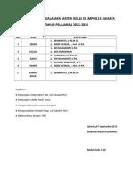 Jadwal Piket Pendalaman Materi Kelas Ix Smpn 115 Jakarta