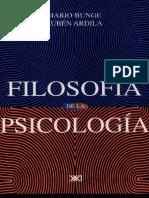Bunge, Mario. Filosofía de la psicología.pdf
